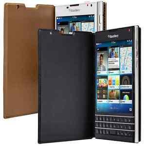 Genuine BlackBerry Passport Flip Leather Case original mobile smart phone cover