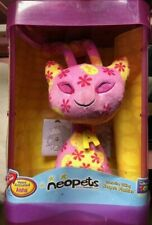 """Thinkway Neopets Interactive Talking Aisha Plush 10"""" Lights Up Voice Activated"""