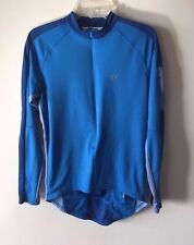 Pearl Izumi Jersey Jacket Cycling Long Sleeve 3/4 Zip Blue Size M