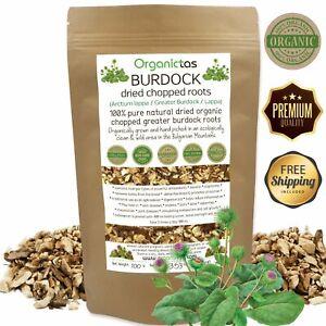 Organic BURDOCK ROOT Herbal Tea Dried Cut Arctium Lappa BEST QUALITY 100g/3.5oz