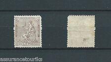 ESPAGNE - 1873 YT 134 - 25 c. brun neuf** sans ch. gomme d' origine