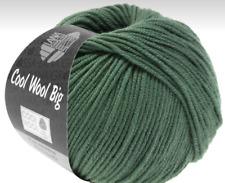 11€/100g Lana Grossa Cool Wool Big 50g Farbe 967, Resedagrün