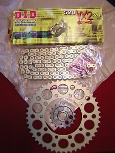 GSF 600 Bandit Faired 2002 DZO ORing Chain and Sprocket Kit