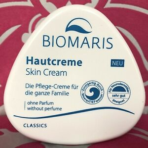 BIOMARIS Hautcreme NEU, skin cream, - OHNE PARFUM - 250 ml Tiegel