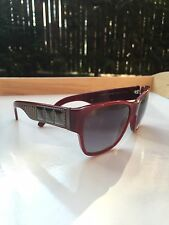 Burberry Sunglasses B 4104 3243/ 8G  Studded GunMetal RARE! Sides* Burgandy $230