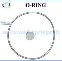 Joint de montre rond O-RING épaisseur 0.8 mm