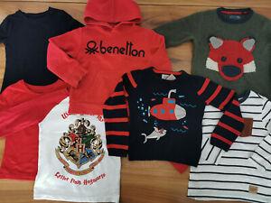 boys 3-4 years bundle autumn winter top jumper hoodie George TU Dunnes