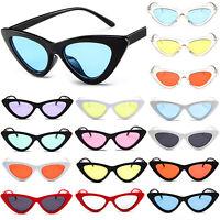 Women Retro Sunglasses Cat Eye Vintage Shades Glasses UV Sun Protection Eyewear