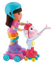 Fisher Price Nickelodeon Dora the Explorer SKATE & SPIN DORA & BOOTS - NEW!!