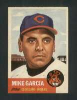 1953 Topps #75 Mike Garcia EXMT/EXMT+ Indians 129675