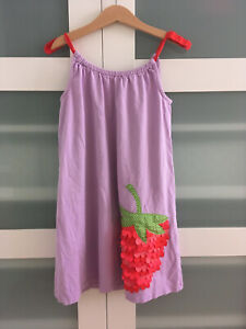 Mini Boden Kleid, Größe 7-8 Jahre, 128, Erdbeere