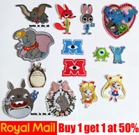 Dumbo Flying Elephant, Monsters University, Neighbour Totoro, Zootropolis Patch