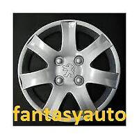 Peugeot 206 206 Plus Set 4 Pezzi Borchie Coppe Ruota Copricerchi 14'' 5611/4