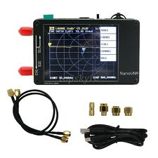 "50KHz-900MHz Vector Network Analyzer Kit MF HF VHF UHF Antenna Analyzer 2.8"" top"