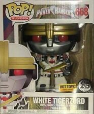 FUNKO POP! POWER RANGERS WHITE TIGERZORD #668 HOT TOPIC EXCLUSIVE