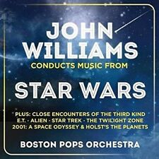 The Boston Pops Orchestra - John Williams Conducts Music From Star Wars CD