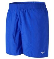 New Men's Speedo Swim Beach Swim Swimming Board Shorts Summer Holidays - Blue