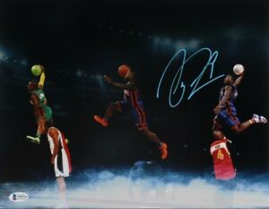 Nate Robinson signed New York Knicks 11x14 photo (Beckett)