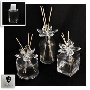 31078 Bomboniere Diffusore Profumatore Fiore cristallo Bottiglia Profumo