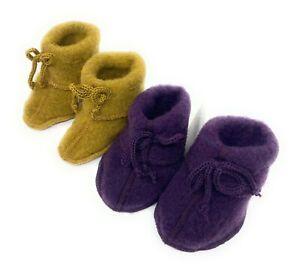 NEU Baby-Schühchen Wolle Baby-Bootees warm angenehm zu Tragen