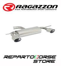 RAGAZZON SCARICO SDOPPIATO TERMINALI OVALI 2 135X90 VW GOLF VI 6 1.4TSI 90kW