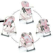 NEW HAUCK SIT N RELAX 2 IN 1 HIGHCHAIR BABY HIGH CHAIR / BOUNCER BIRDIE