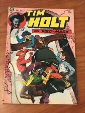 Tim Holt #20 Magazine Enterprises Red Mask Ghost Rider 1950 VG+