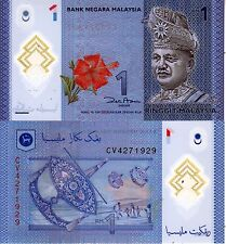 MALAYSIA 1 RINGGIT 2012 POLYMER UNC FDS