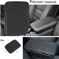 Car SUV Armrest Pad Cover Auto Center Console Box Leather Cushion Pads Universal