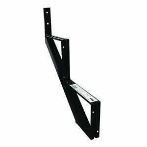 Pylex 13902 Riser 2 Steps Steel Stair Stringer, Black (one unit)