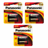 3x 2cr5 batería de litio Panasonic blister