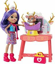 Enchantimals GBX04 Caring Vet Doctor Playset with Accessories, Danessa Deer Doll