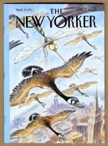 New Yorker magazine April 17 2000 Anthony Bourdain photo Hell's Kitchen story NM