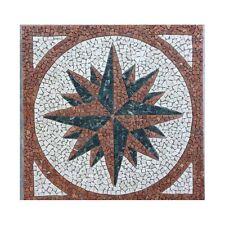Rosoni rosone mosaico in marmo su rete per interni esterni 66x66 MAJORCA 66.01