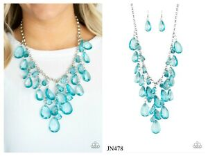 NWT! Paparazzi ~ Irresistible Iridescence ~ Blue Necklace