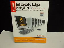 Roxio BackUp myPC Deluxe, Backup / Sicherungssoftware, #L-9