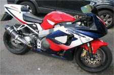 For 2000-2001 00 Honda CBR929RR Fireblade Faded Red Blue Fairings Bodywork Kit