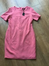 BNWT Ladies M&S Autograph Pink Candy Evening Party Dress - Size UK 12