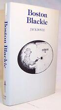 Jack Boyle BOSTON BLACKIE First edition thus. Gregg Press Facsimile with stills