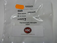 GLOW WORM SWIFTFLOW 75 80 & 100 THERMOCOUPLE INTERRUPTER INSERT S202429 202429