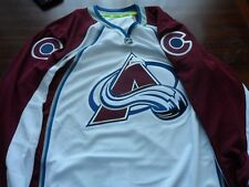 Reebok Authentic Edge NHL Jersey Colorado Avalanche Team White sz 54