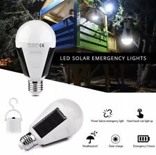 LED 7w E27 Solar Camping or Home Emergency Bulb-Great for Backyard Too!