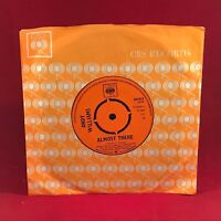 "ANDY WILLIAMS Almost There 1965 UK 7"" vinyl single EXCELLENT CONDITION"