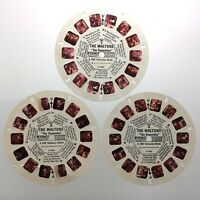 Lot of 3 Waltons The Separation 3D View Master Slides Stereo Reels Q646