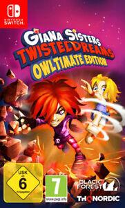 Nintendo Switch Giana Sisters Twisted Dreams NEU