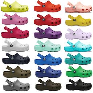 Crocs Classic Clog Kinder Schuhe Clogs Sandalen Pantoletten Hausschuhe