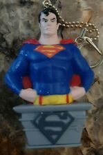 "SUPERMAN BUST KEY CHAIN 3"" MINI PVC"