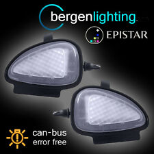 FOR VOLKSWAGEN SCIROCCO 2009-2014 18 LED UNDER MIRROR PUDDLE LIGHT LAMP PAIR