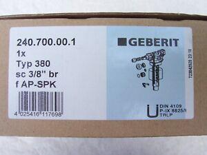 Geberit Füllventil, Schwimmerventil, Schwimmer, Unifill, Aufputz/Unterputz