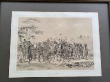 New listing Archery of the Mandans lithograph